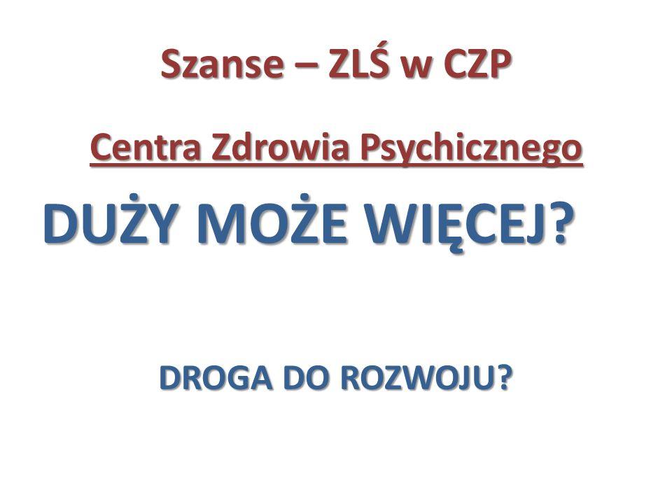 Centra Zdrowia Psychicznego