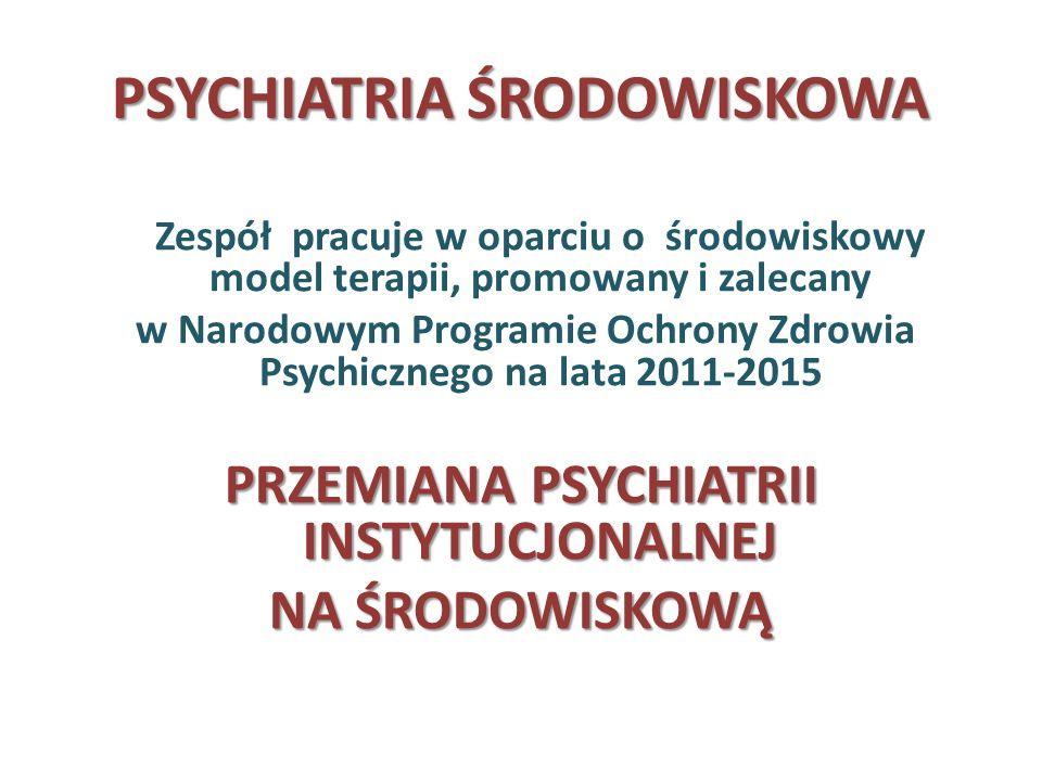 PSYCHIATRIA ŚRODOWISKOWA
