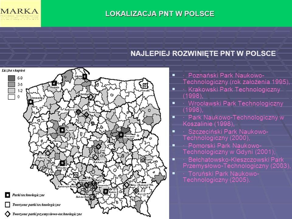 LOKALIZACJA PNT W POLSCE