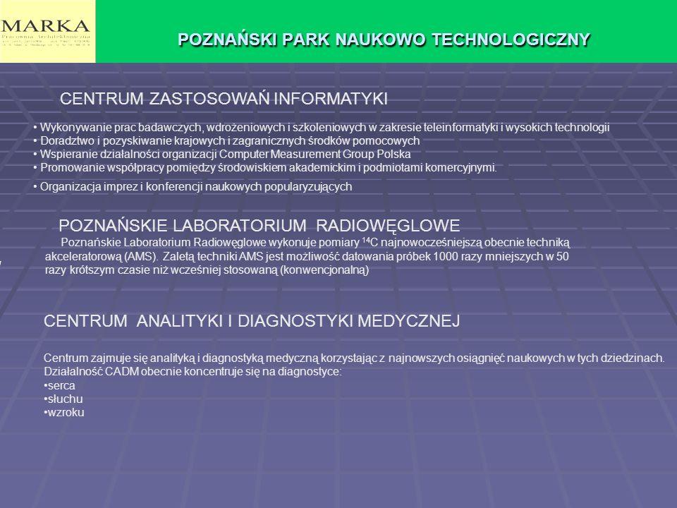 POZNAŃSKI PARK NAUKOWO TECHNOLOGICZNY