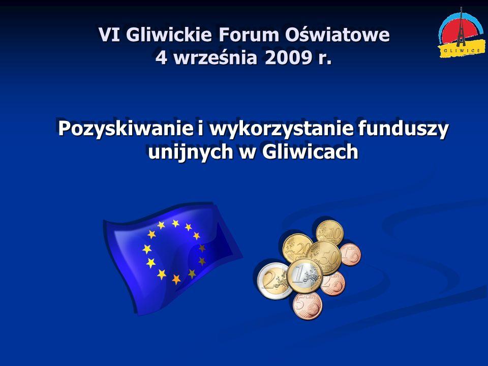 VI Gliwickie Forum Oświatowe 4 września 2009 r.