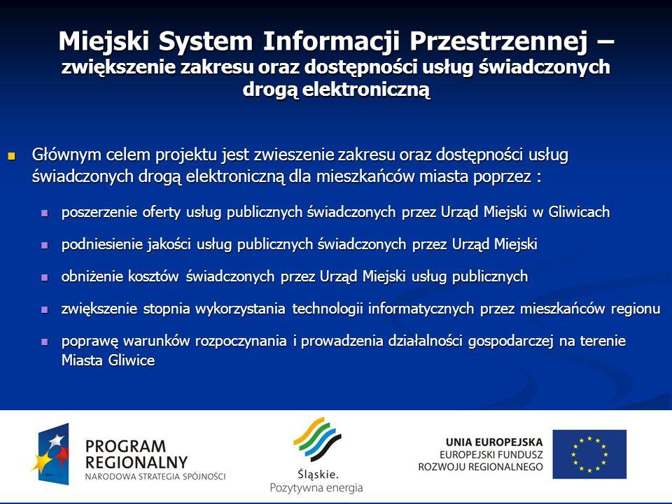 Miejski System Informacji Przestrzennej – zwiększenie zakresu oraz dostępności usług świadczonych drogą elektroniczną