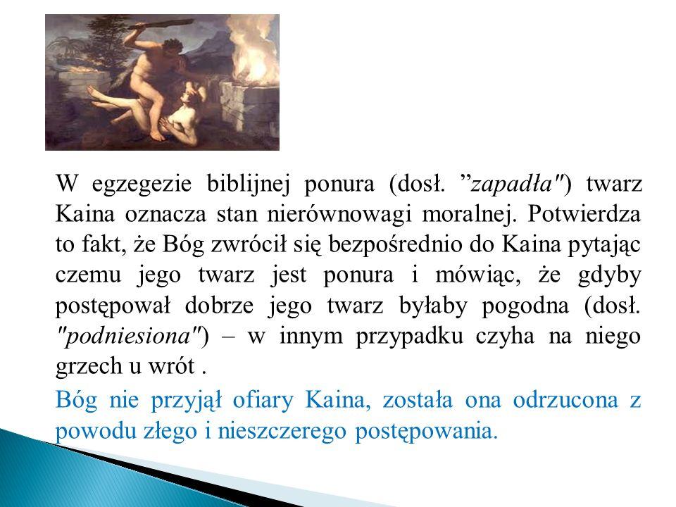 W egzegezie biblijnej ponura (dosł
