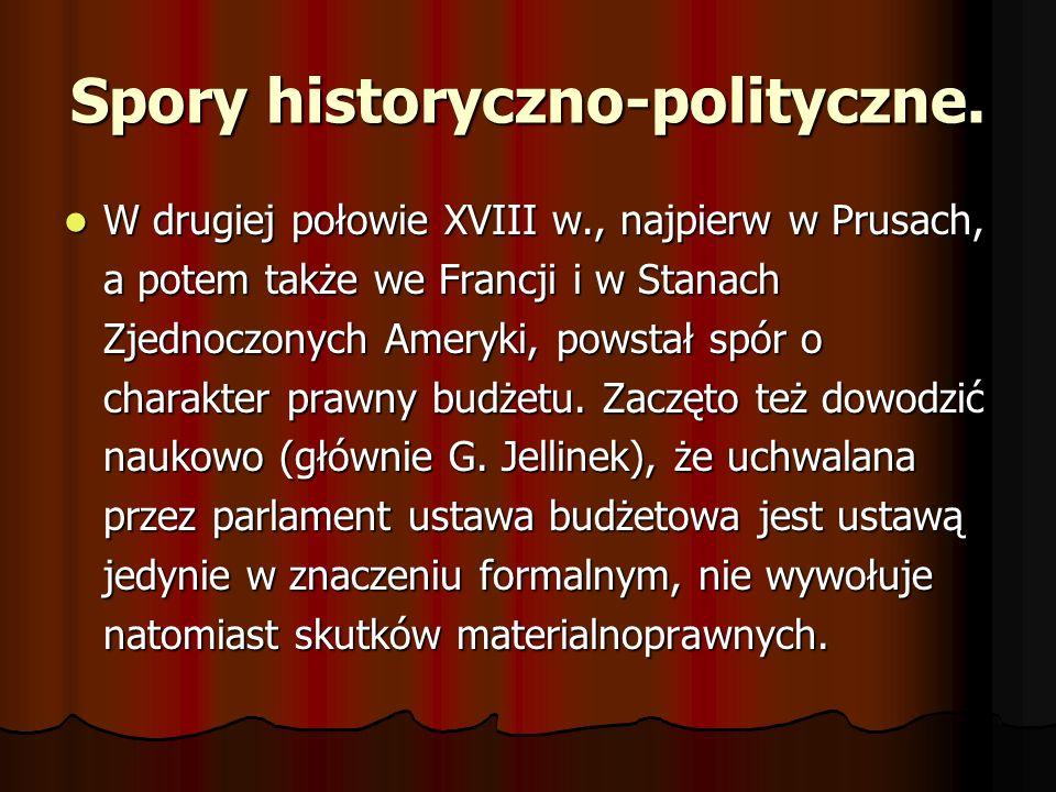 Spory historyczno-polityczne.