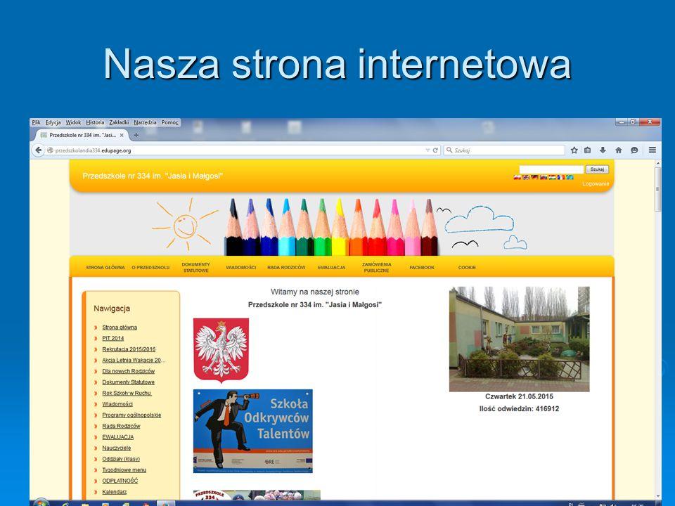 Nasza strona internetowa