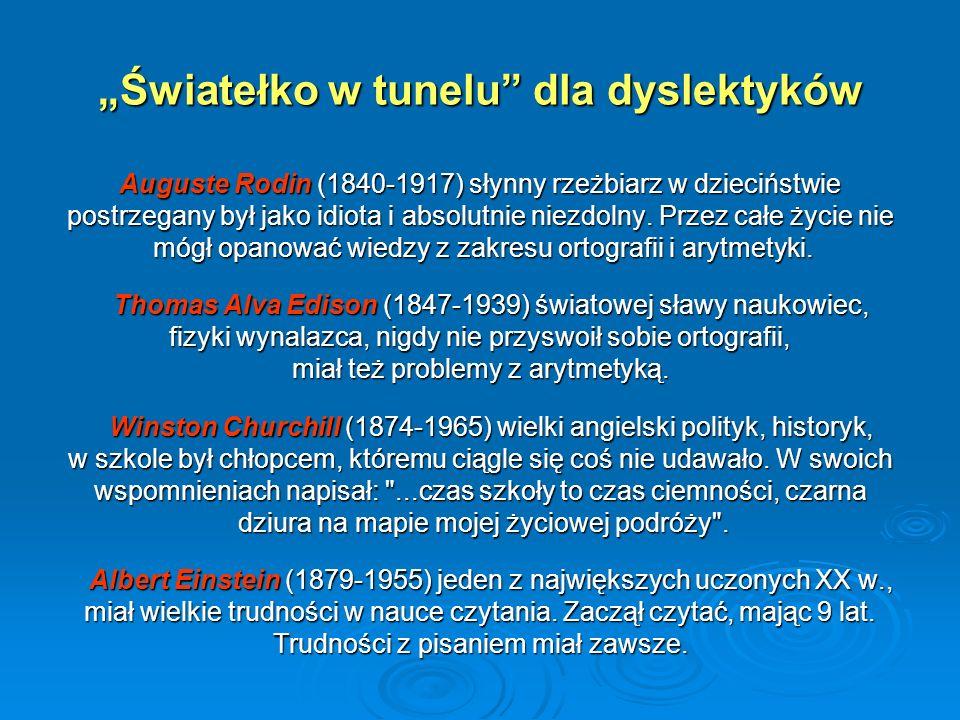 """""""Światełko w tunelu dla dyslektyków"""