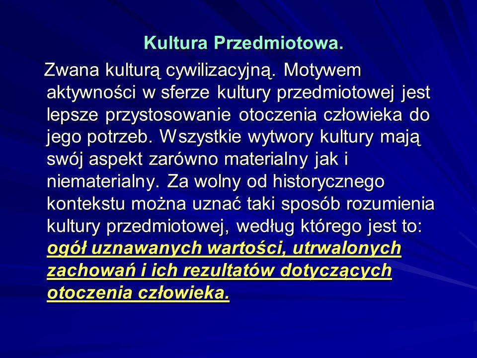 Kultura Przedmiotowa.