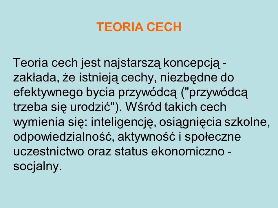 TEORIA CECH