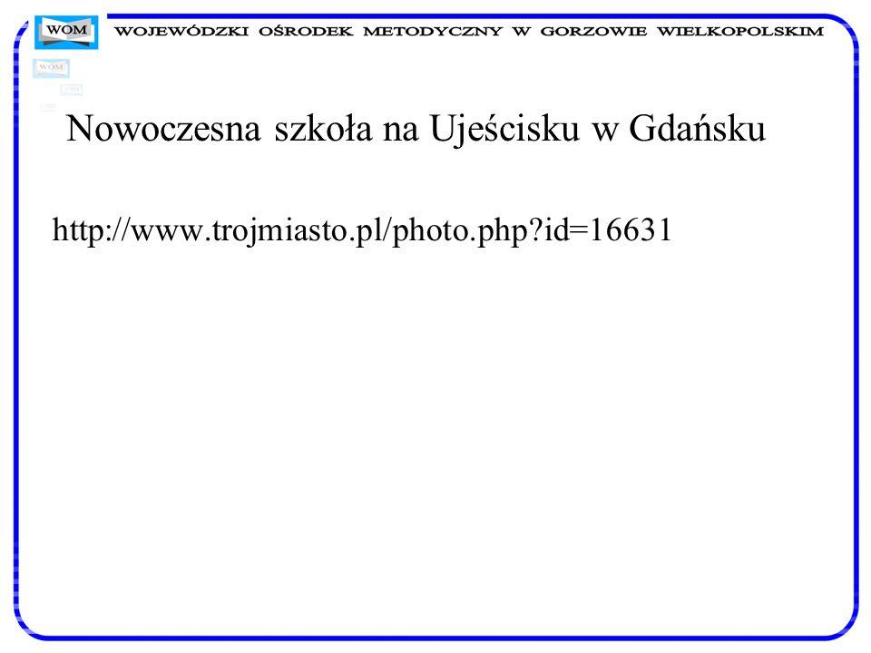 Nowoczesna szkoła na Ujeścisku w Gdańsku