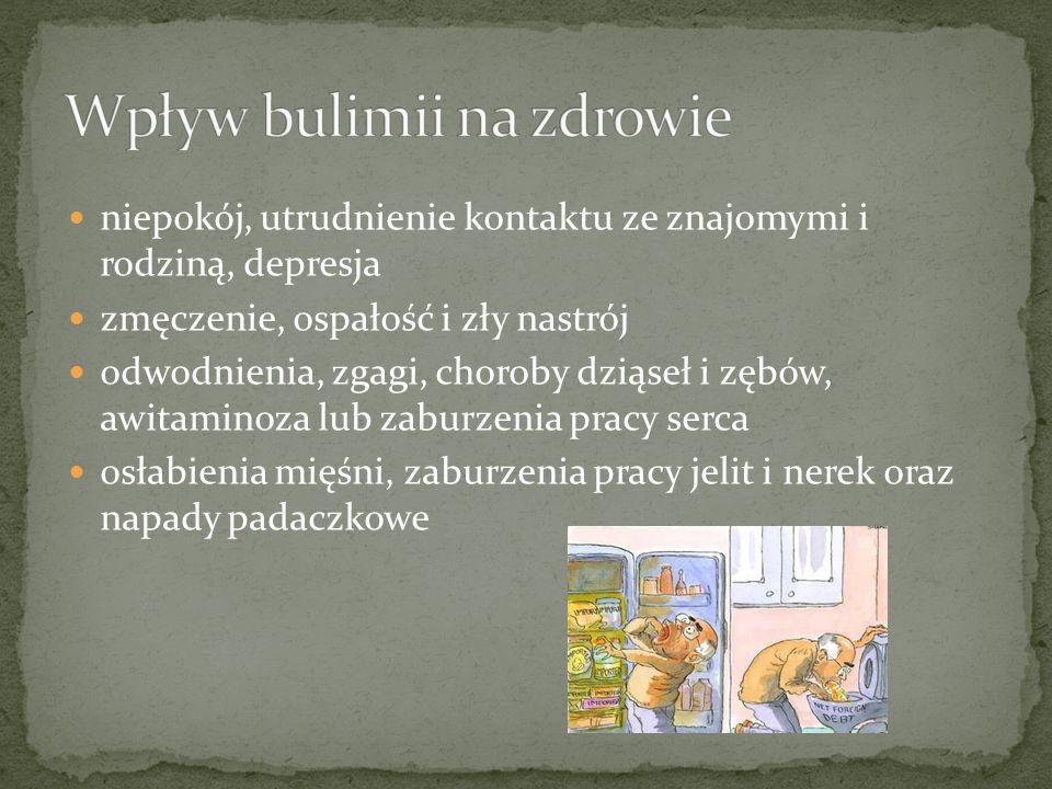 Wpływ bulimii na zdrowie