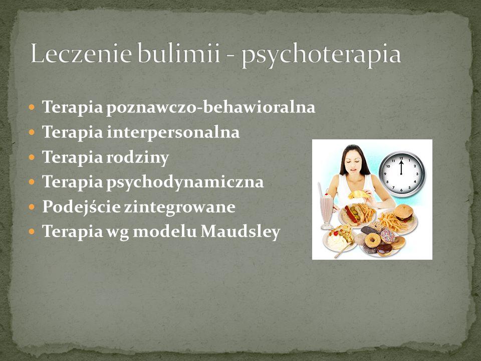 Leczenie bulimii - psychoterapia