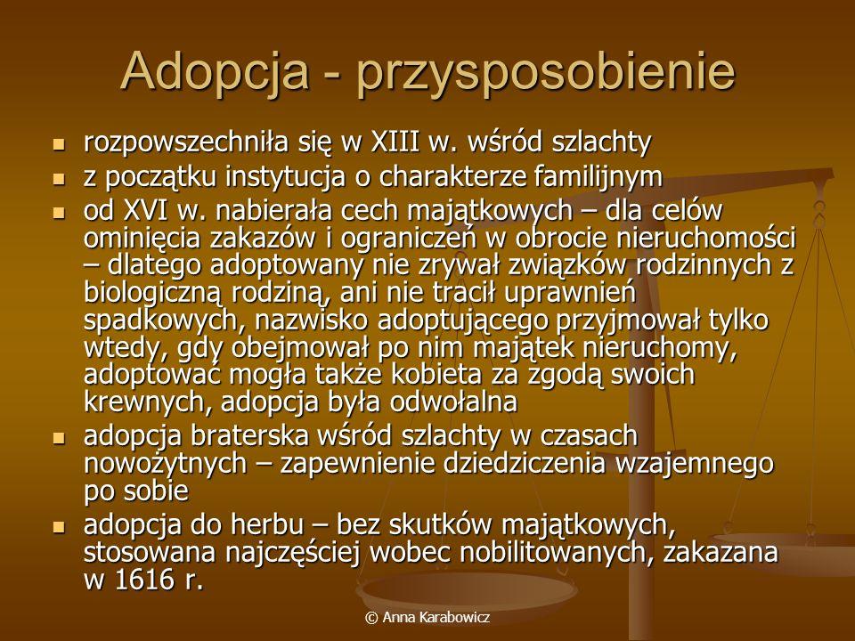 Adopcja - przysposobienie