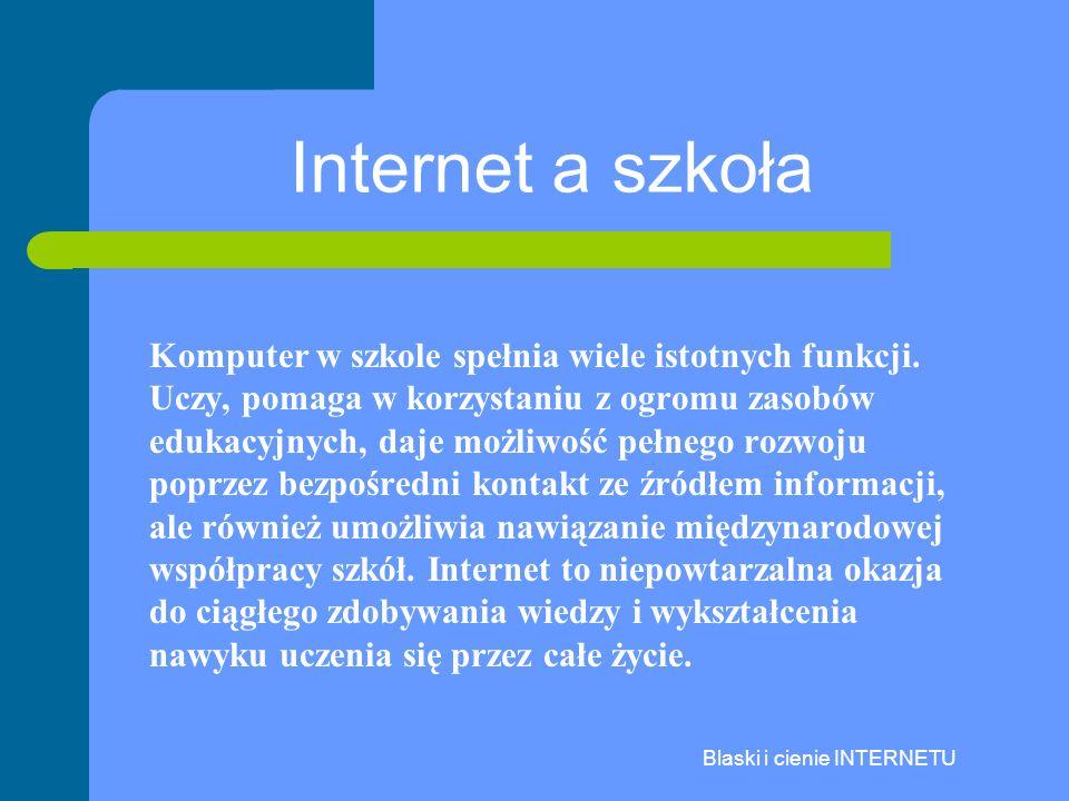 Blaski i cienie INTERNETU