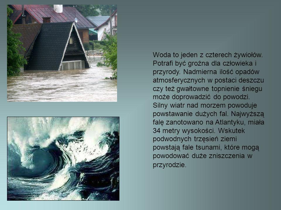 Woda to jeden z czterech żywiołów