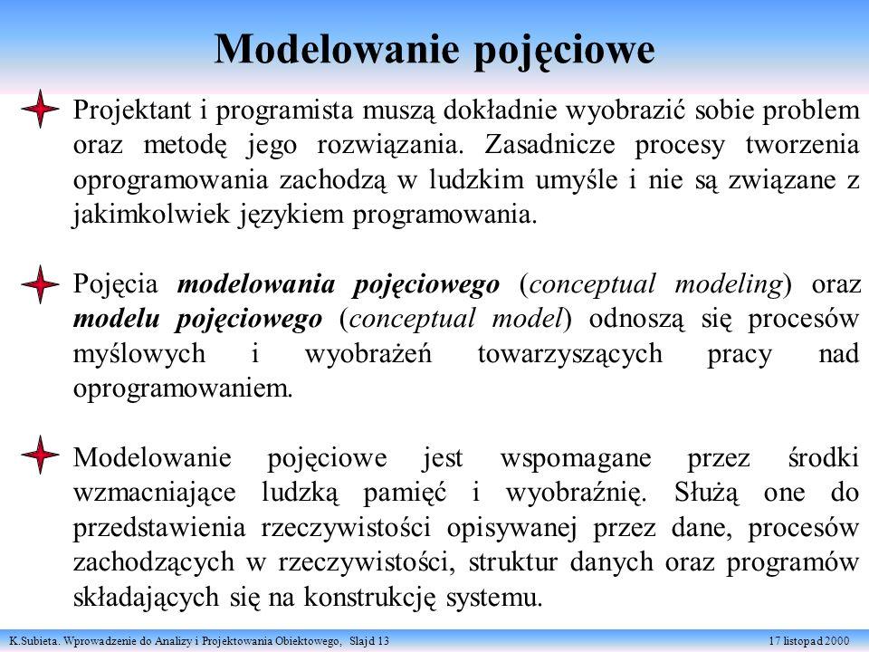 Modelowanie pojęciowe