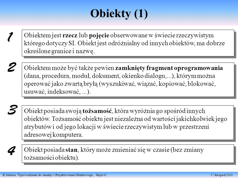 Obiekty (1)