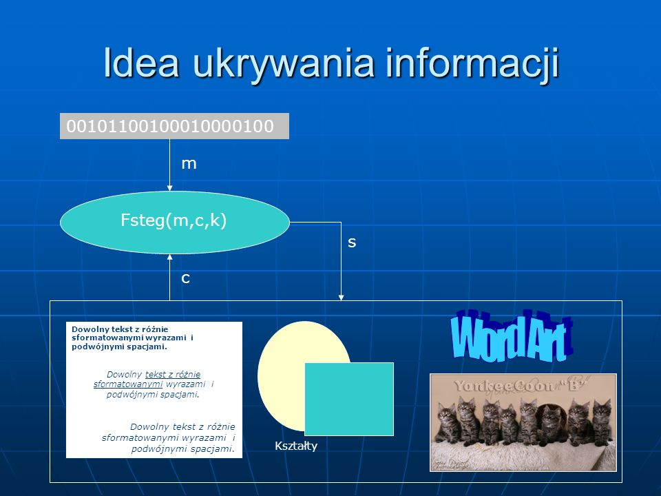 Idea ukrywania informacji