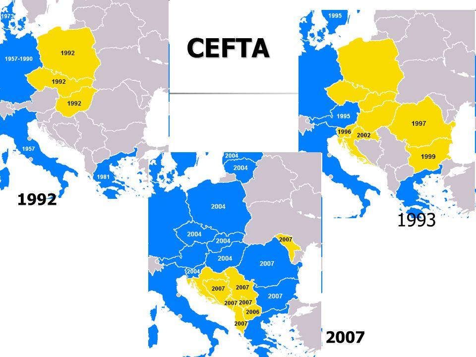 CEFTA 1992 1993 2007