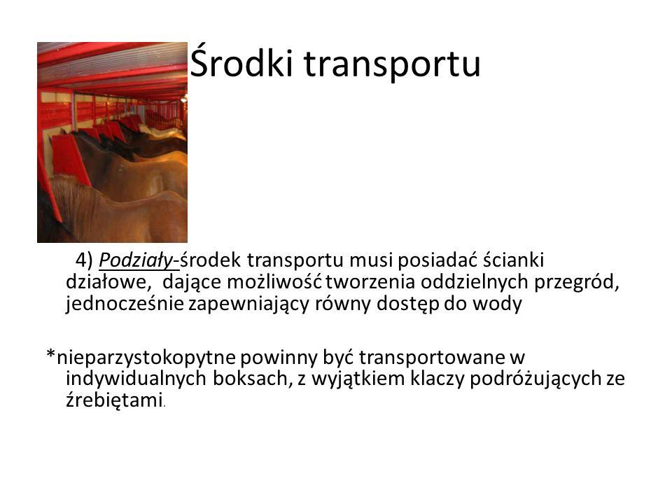 Środki transportu