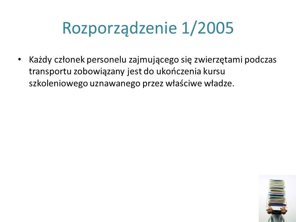 Rozporządzenie 1/2005