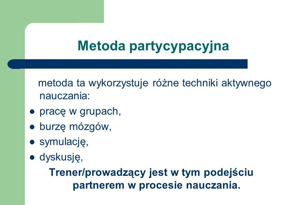 Metoda partycypacyjna