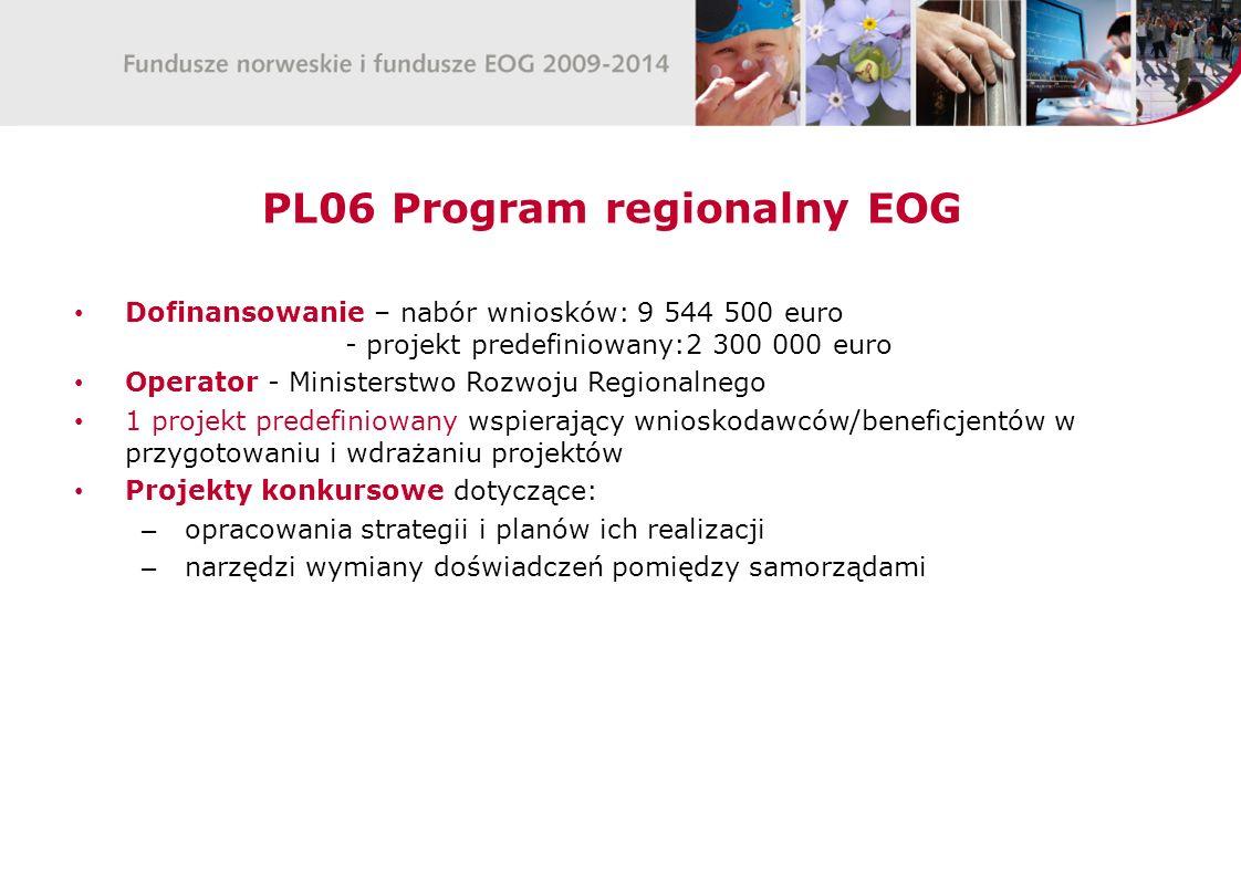 PL06 Program regionalny EOG