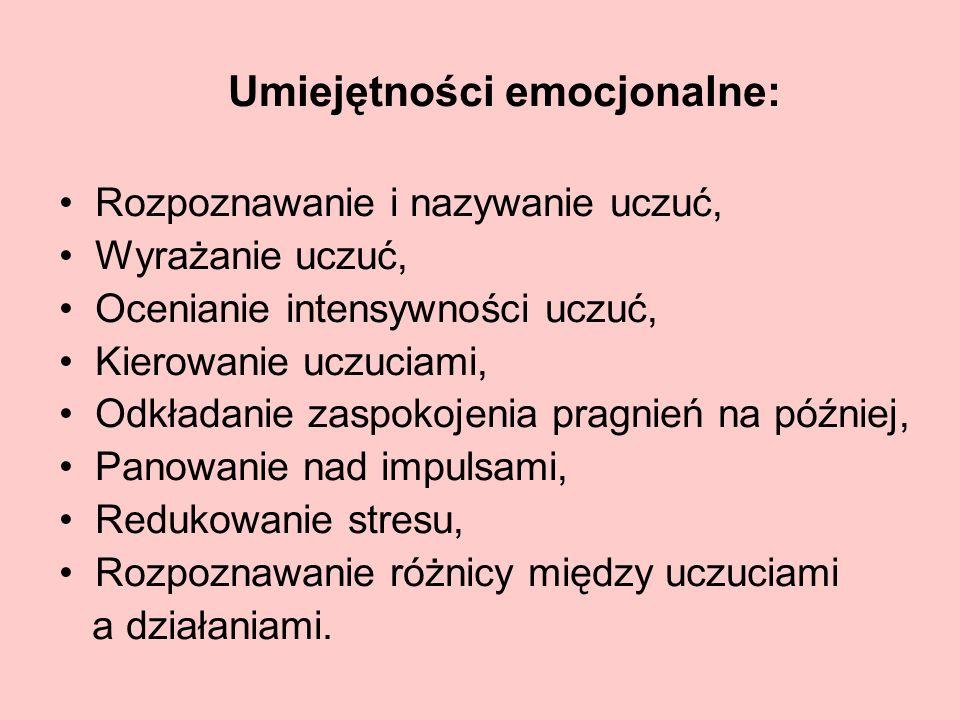 Umiejętności emocjonalne:
