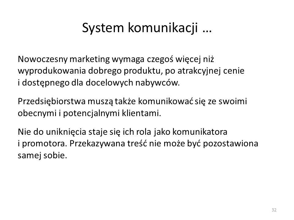 System komunikacji …