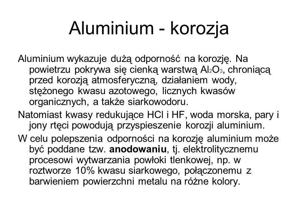 Aluminium - korozja