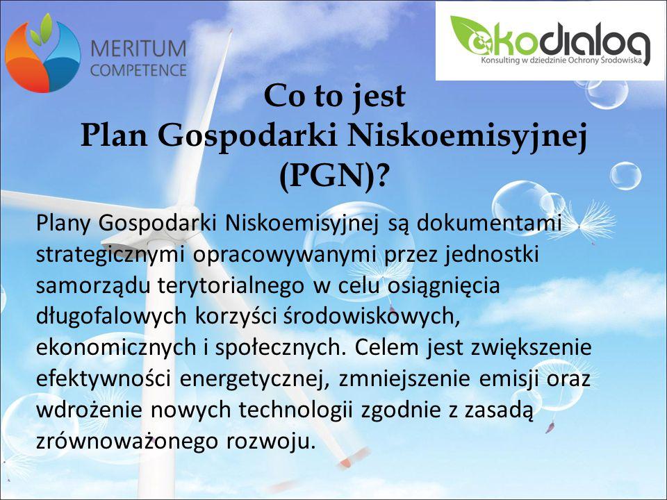 Co to jest Plan Gospodarki Niskoemisyjnej (PGN)