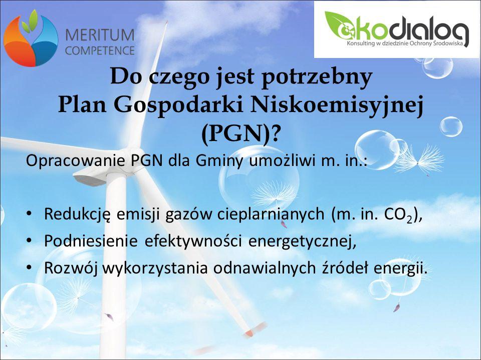 Do czego jest potrzebny Plan Gospodarki Niskoemisyjnej (PGN)