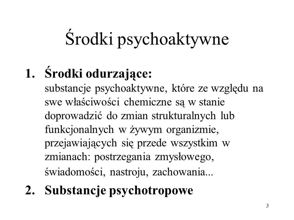 Środki psychoaktywne