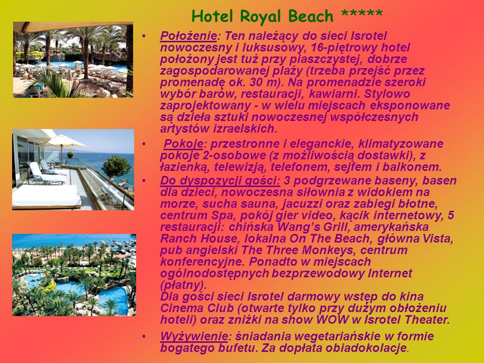 Hotel Royal Beach *****