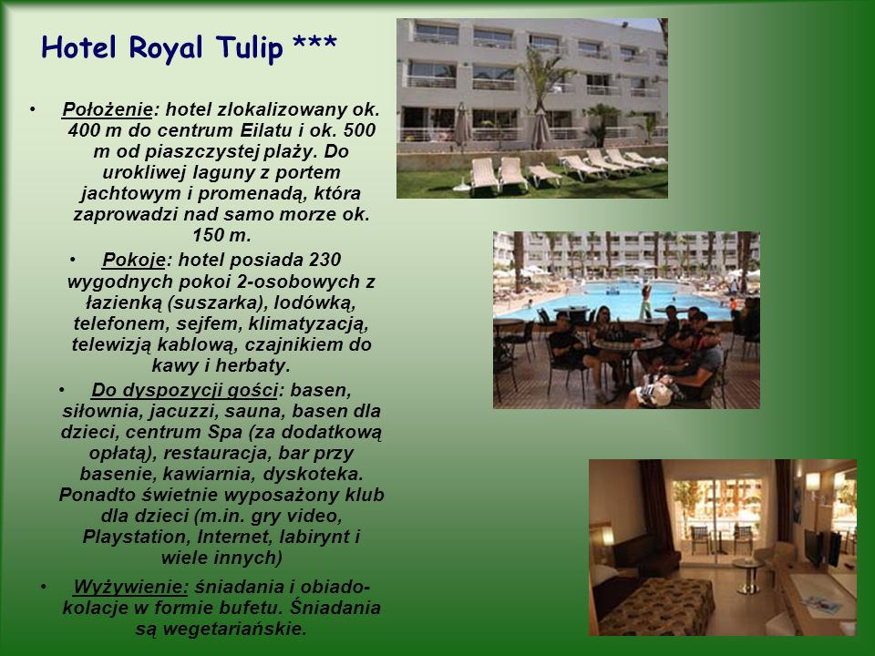 Hotel Royal Tulip ***