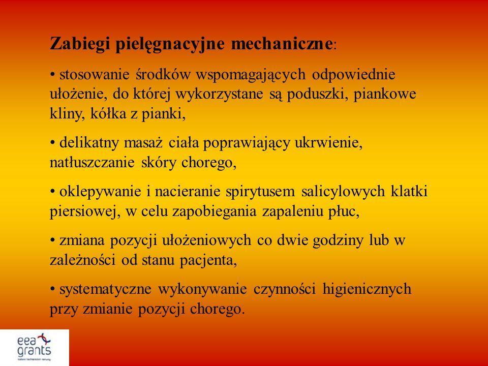 Zabiegi pielęgnacyjne mechaniczne: