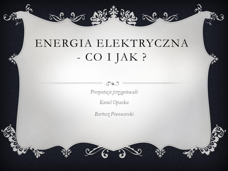 Energia Elektryczna - Co i Jak
