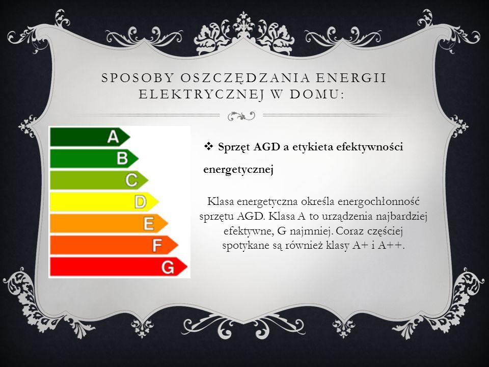 Sposoby oszczędzania energii elektrycznej w domu: