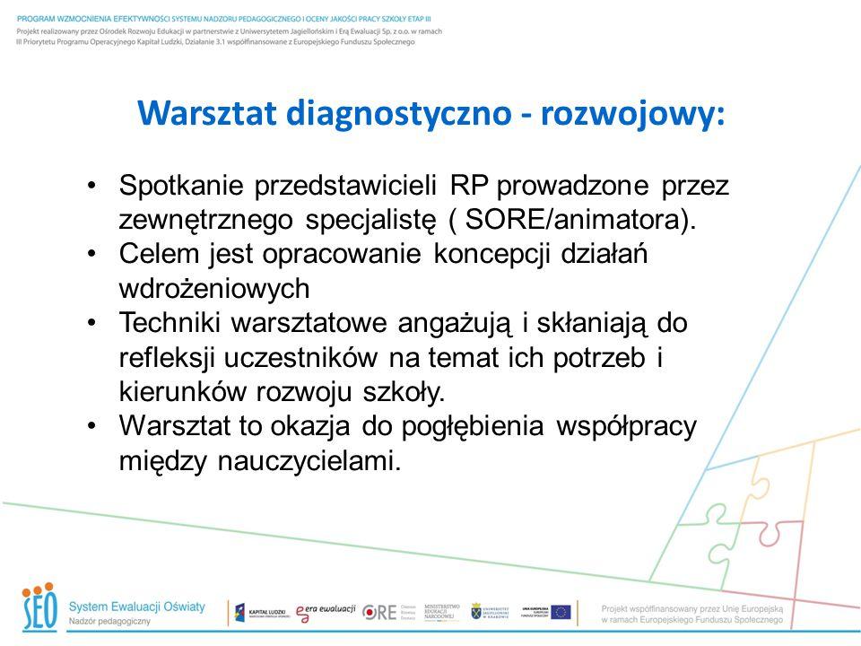 Warsztat diagnostyczno - rozwojowy: