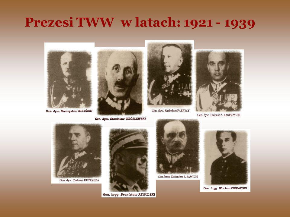 Prezesi TWW w latach: 1921 - 1939
