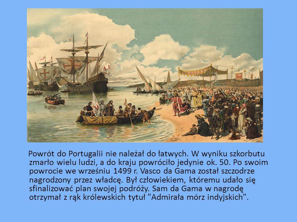 Powrót do Portugalii nie należał do łatwych
