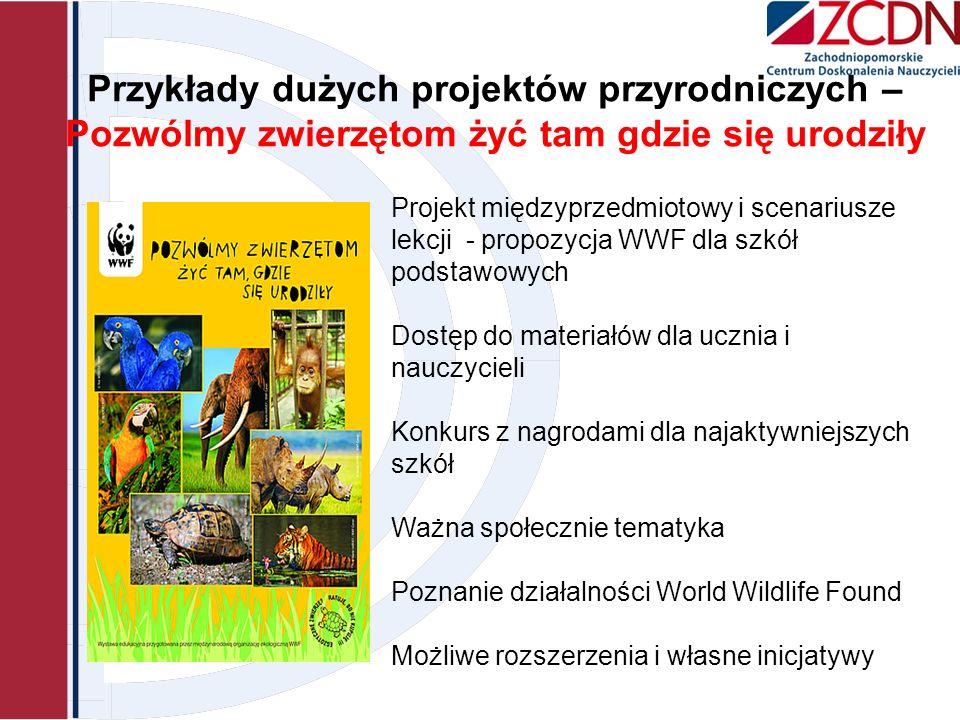 Przykłady dużych projektów przyrodniczych – Pozwólmy zwierzętom żyć tam gdzie się urodziły