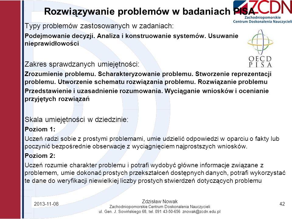 Rozwiązywanie problemów w badaniach PISA