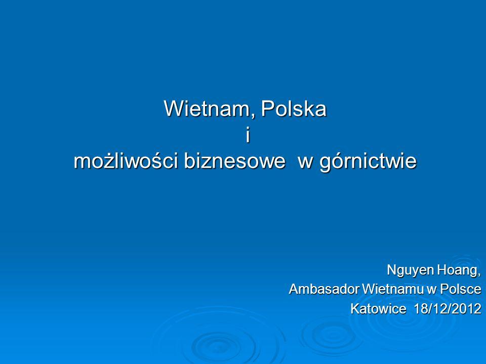 Wietnam, Polska i możliwości biznesowe w górnictwie