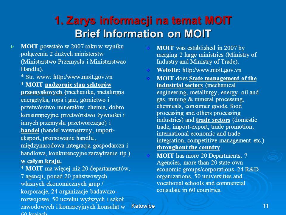 1. Zarys informacji na temat MOIT Brief Information on MOIT