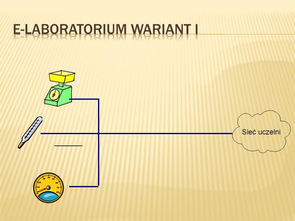 E-laboratorium Wariant I