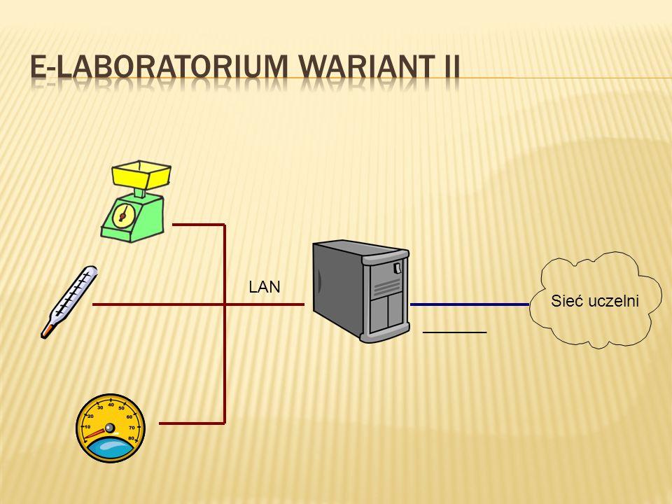 E-laboratorium Wariant II