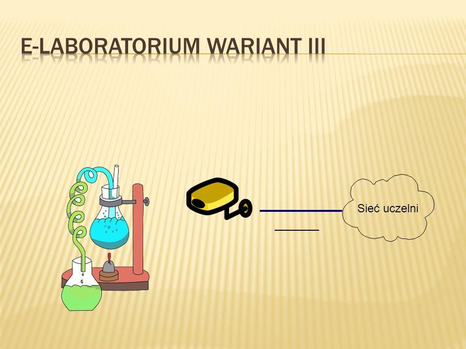 E-laboratorium Wariant III