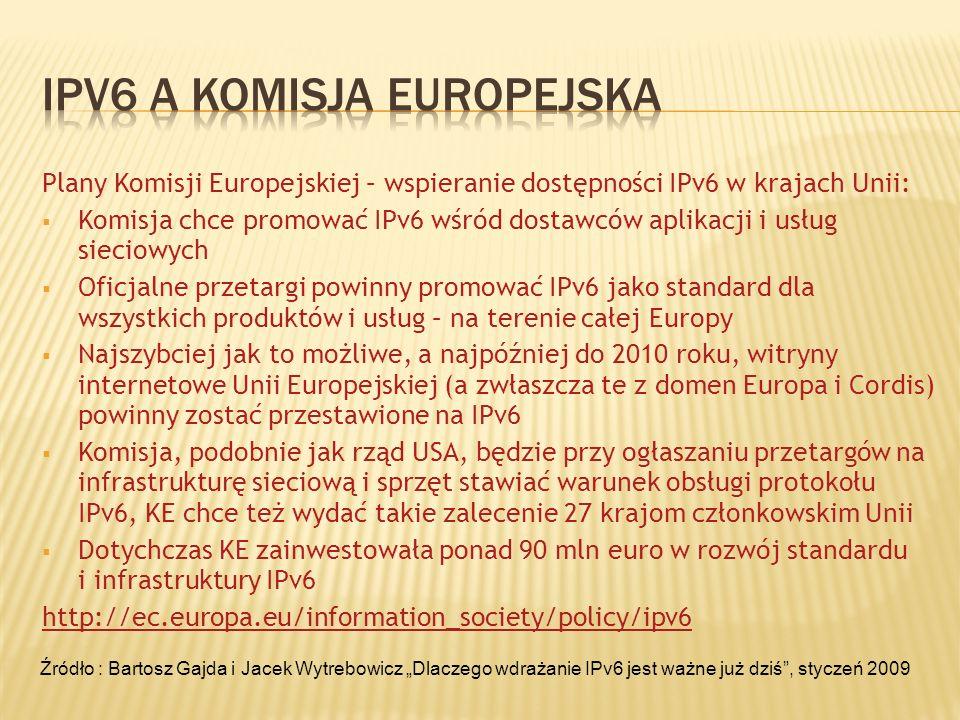 Ipv6 a komisja europejska