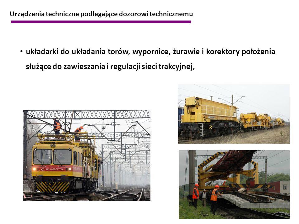 Urządzenia techniczne podlegające dozorowi technicznemu