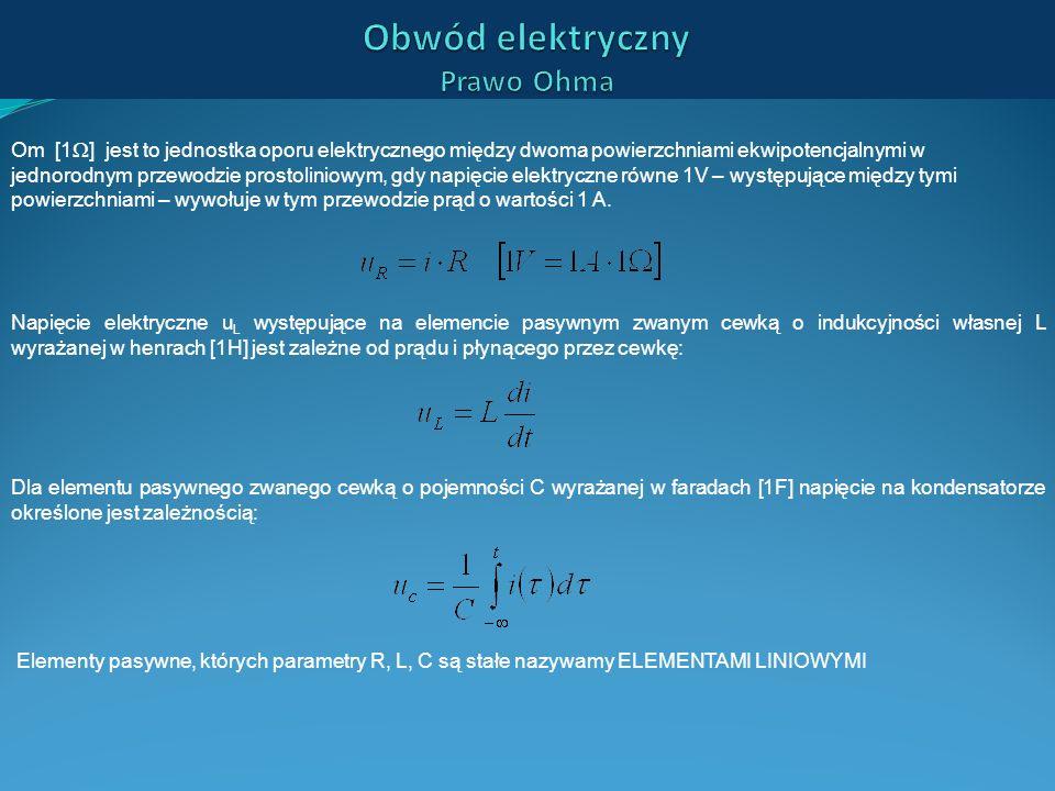 Obwód elektryczny Prawo Ohma